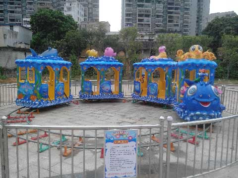 Amusement Train Rides For Sale Indonesia - Beston Amusement Rides Company