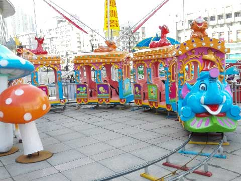 Amusement Train Rides For Sale Indonesia - Beston Rides Factory In China