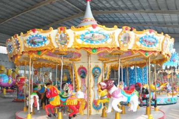 16-Seat Carousel For Sale Indonesia - Beston Factory