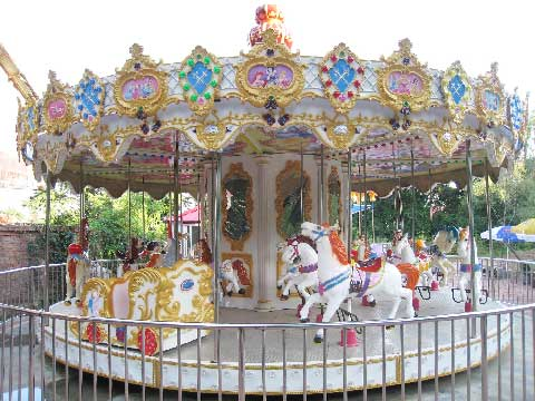24-Seat Carousel For Sale Indonesia - Beston Supplier
