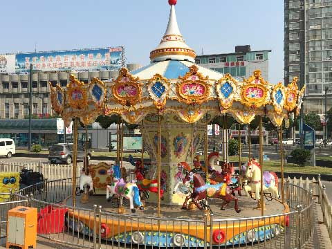 16-Seat Carousel For Sale Indonesia - Beston Rides