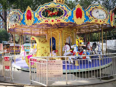 16-Seat Carousel For Sale Indonesia - Beston Rides Factory