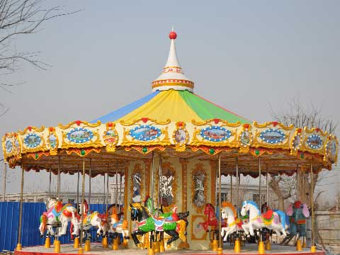 24-Seat Carousel For Sale Indonesia - Beston Manufacturer