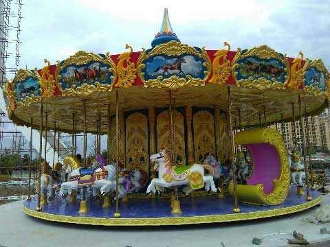 Cheap Carousel For Sale Indonesia - Beston Rides Company