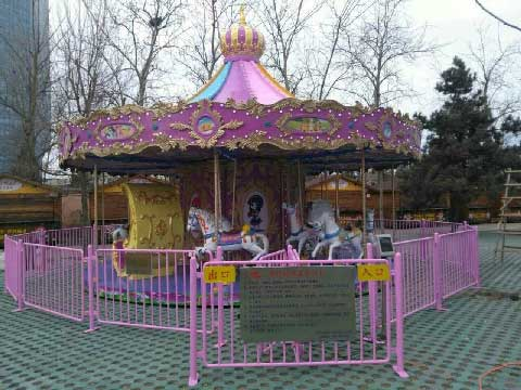 Luxury Carousel For Sale Indonesia - Beston