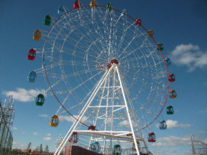 Cheap 42m Ferris Wheel For Sale Indonesia - Beston