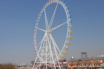 88m Ferris Wheel For Sale Indonesia - Beston Rides Company