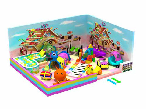 Kiddie Indoor Playground Equipment For Sale Indonesia - Beston Supplier