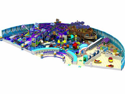 Cheap Commercial Indoor Playground Equipment For Sale Indonesia in Beston