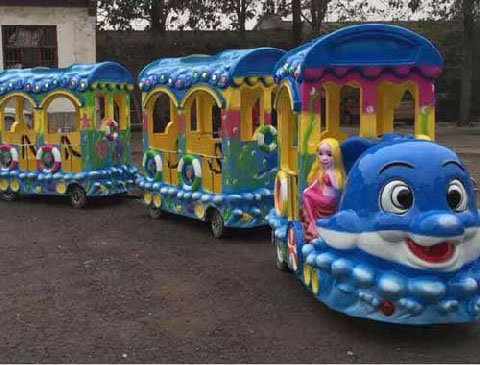 BNKR 01 - Kiddie Train Rides For Sale Cheap To Indonesia - Beston Factory