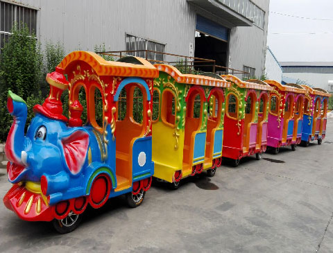 BNKR 02 - Kiddie Train Rides For Sale Cheap To Indonesia - Beston