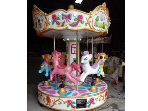BNKR 06 - Kiddie Carousel For Sale Cheap To Indonesia - Beston Company