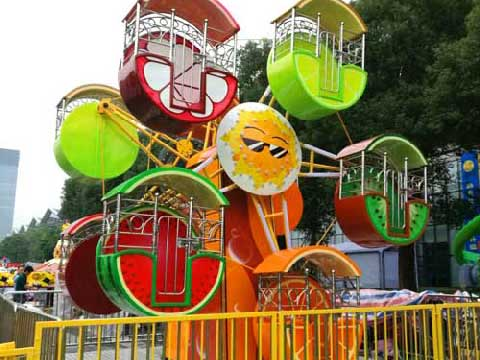 BNKR 09 - Kiddie Rides Ferris Wheel For Sale Cheap To Indonesia - Beston Company