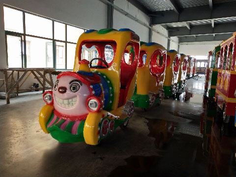 Trackless Mall Train Rides For Sale Indonesia In BESTON