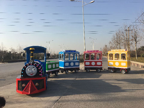Trackless Mall Train Rides For Sale Indonesia - Beston Supplier