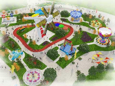 Amusement Park Design & Amusement Rides For Sale Cheap In Beston