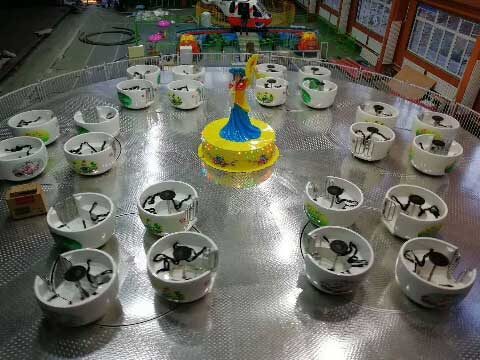 BNTC 05 - High Quality Spinning Tea Cup Ride - Beston Factory