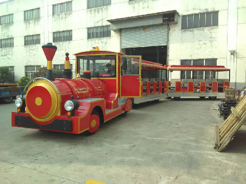 Trackless Trains For Sale Indonesia - Beston Factory