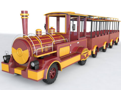 Trackless Trains For Sale Indonesia - Beston Rides