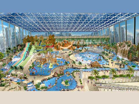 Popular Water Park Design By Beston Factory