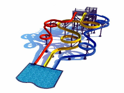 Beston Water Slide Rides Design - Beston Factory