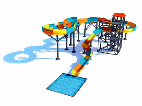 Beston Water Slide Rides Design