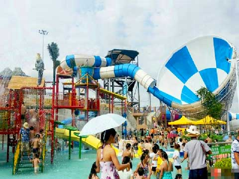 Buy Cheap Spiral Trumpet Giant Water Slide From Beston