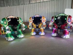 Cheap Beston Amusement Robot Kiddie Rides For Sale To Indonesia