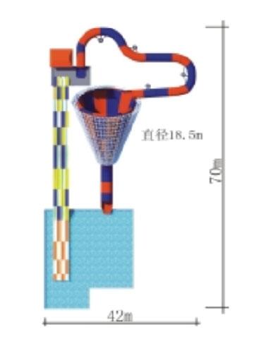 Diameter Of Spiral Trumpet Giant Water Slide