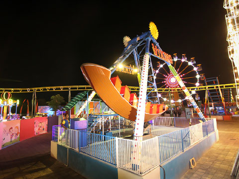 Feedback Of Beston Amusement Park Pirate Ship Ride For Sale To Indonesia