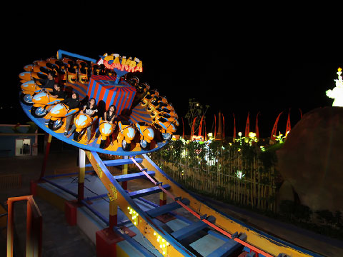 Feedback Of Beston Amusement Park Rides Flying UFO Disk'O Coaster For Sale To Indonesia