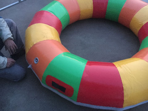 Installation Of Inflatable Bumper Boats For Sale - Beston Factory