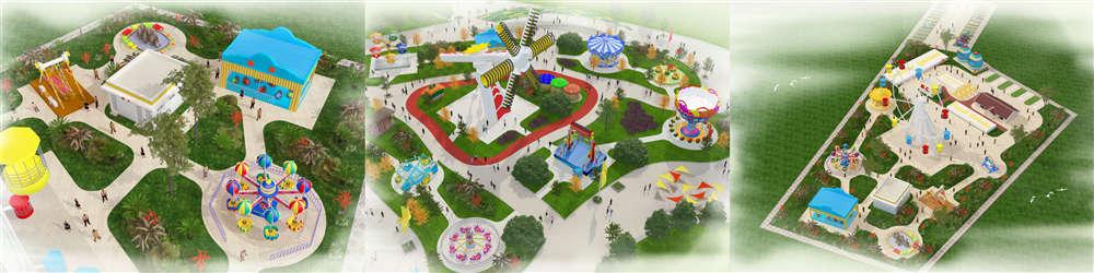 Professional Amusement Park Design By Beston Factory