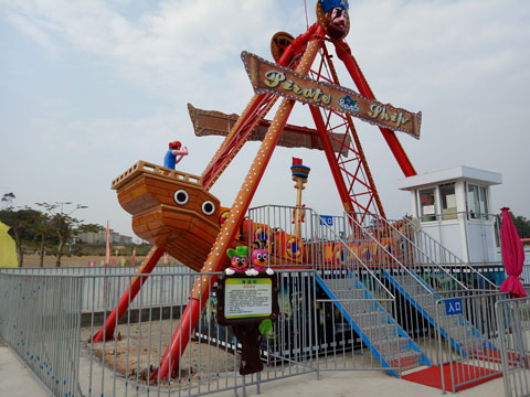 BNPS 02 - Pirate Ship Ride For Sale Indonesia