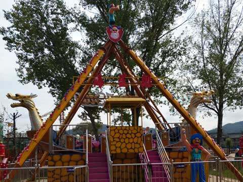 BNPS 04 - Pirate Ship Ride For Sale Indonesia