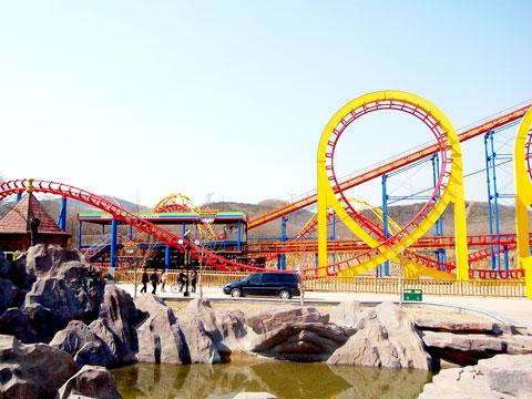 BNRC 04 - Four-loop Roller Coaster For Sale