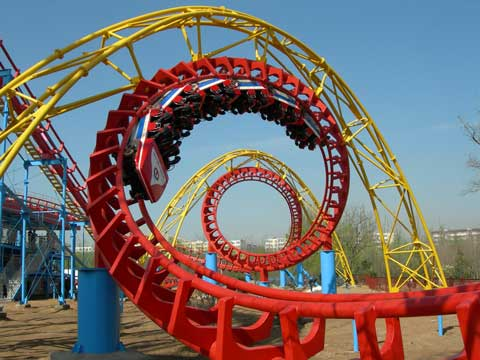 BNRC 05 - Four-loop Roller Coaster For Sale