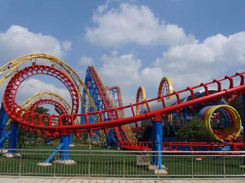 BNRC 06 - Four-loop Roller Coaster For Sale