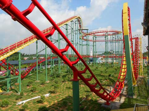 BNRC 08 - Mid-three-loop Roller Coaster