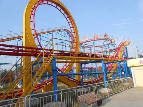 BNRC 09 - Mid-three-loop Roller Coaster