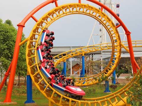 BNRC 10 - Mid-three-loop Roller Coaster