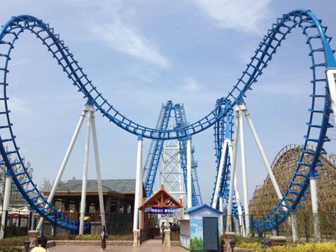 BNRC 12 - Cobra Roller Coaster For Sale
