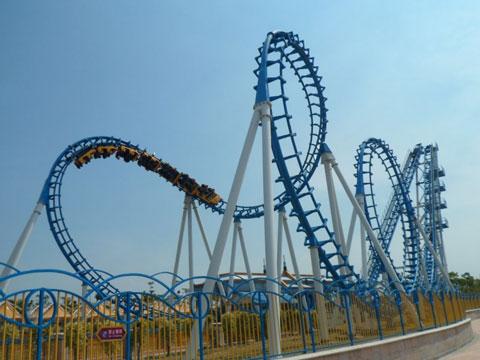 BNRC 13 - Cobra Roller Coaster For Sale
