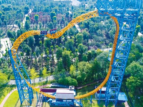 BNRC 15 - Magic Ring Roller Coaster For Sale