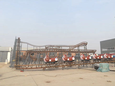 BNRC 18 - Wild Mouse Roller Coaster For Sale