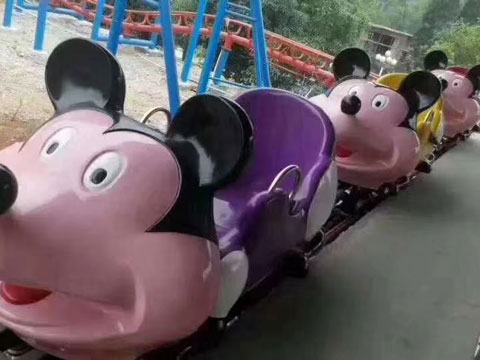 BNRC 19 - Wild Mouse Roller Coaster For Sale