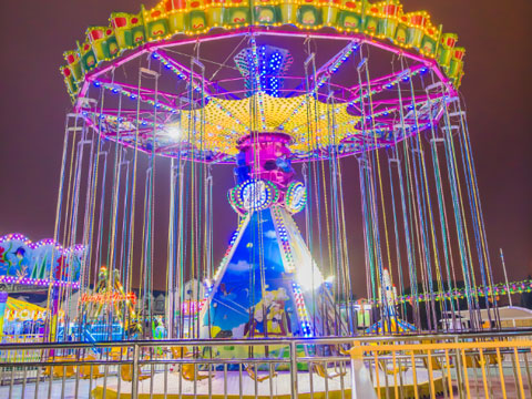 BNSR 02 – Amusement Park Swing Ride For Sale Indonesia - Beston
