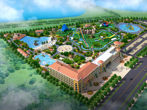 BNWPD 01 - Water Park Design & Project In Indonesia - Beston Company