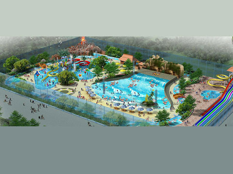 BNWPD 02 - Water Park Design & Project In Indonesia - Beston Company