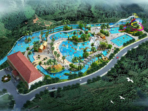 BNWPD 03 - Water Park Design & Project In Indonesia - Beston Company